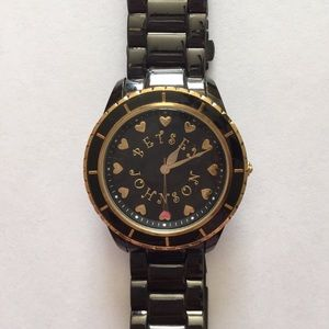 PRICED TO MOVE VINTAGE BETSEY JOHNSON WATCH HEARTS